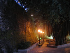 A walk at dusk in Old San Juan