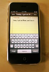 iPhone normale Tastatur