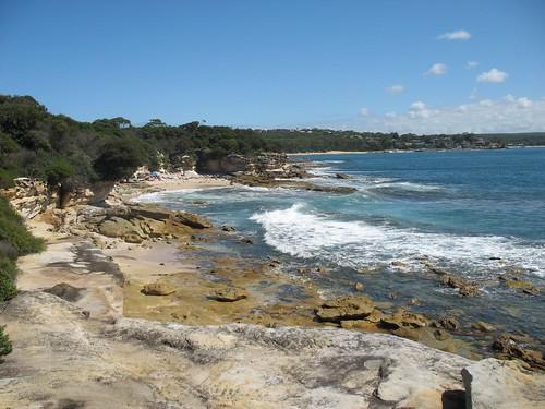 Bundeena coastal line
