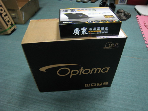 投影機和電視盒