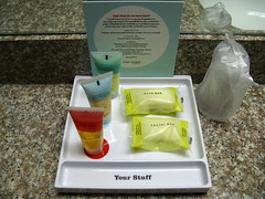 Cute toiletries at Four Points by Sheraton