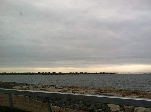 Nice view driving out to the 5K