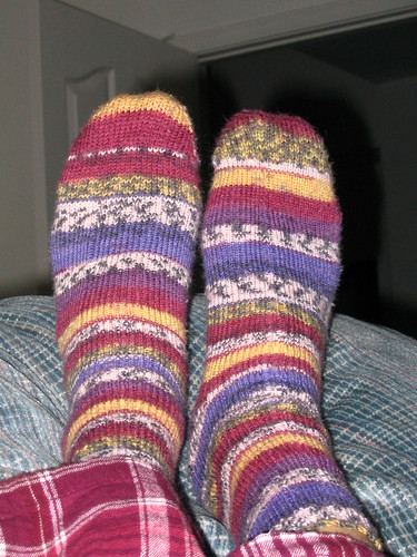 My first pair of socks ever!