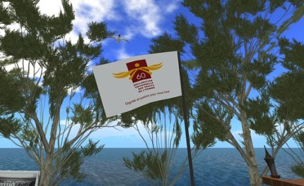 Ile des Droits de l'Homme / Ile Verte / Human Rights Island - Second Life