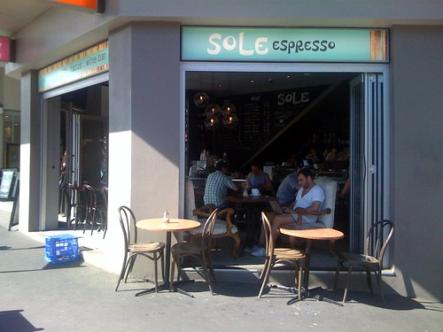 Sole espresso, Newtown