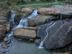 02 Reedy River Waterfall in Greenville