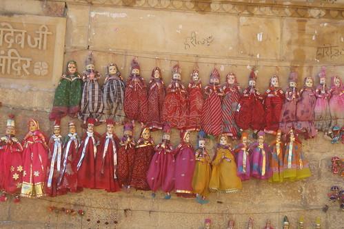 Jaisalmern Fort1-3當地手工藝品
