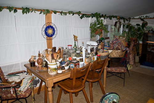 Dining table is loaded