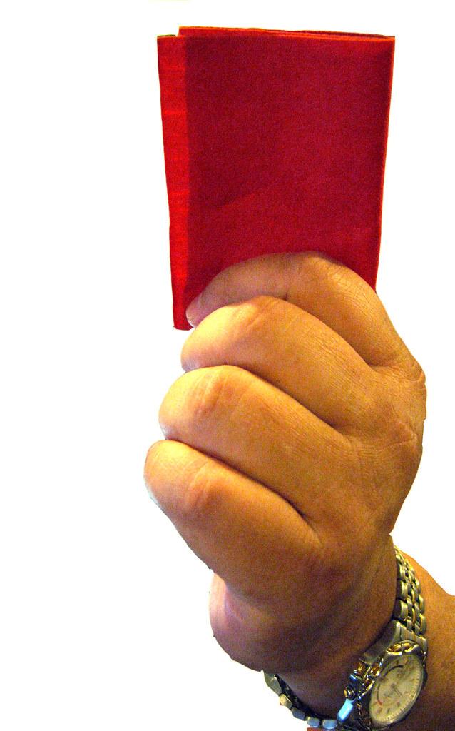 Red card short bread