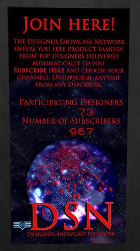 Designer Showcase Network kiosk