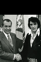 Nixon and Elvlis: The iPhone Wallpaper