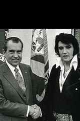 Nixon and Elvlis: The iPhone Wallpaper
