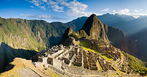 Die obligate Postkartenversion des Machu Picchu