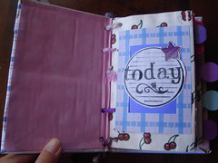 Today: Mini Art Book Journal (Title Page)