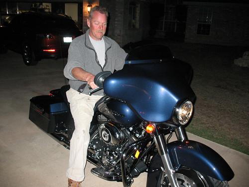 Ed\'s new Harley Davidson Street Glide