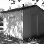 Friedhofsbude