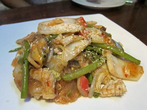 Dry Seafood Suki Yaki