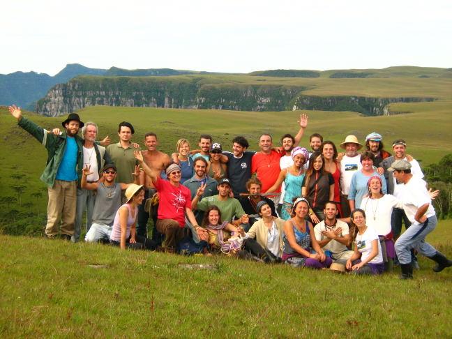 Turma da Permacultura 2008