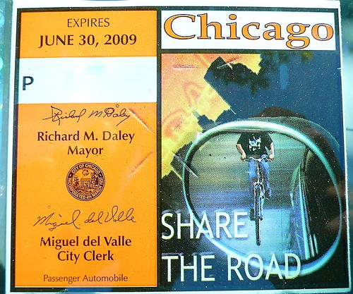 Chicago: Share the road