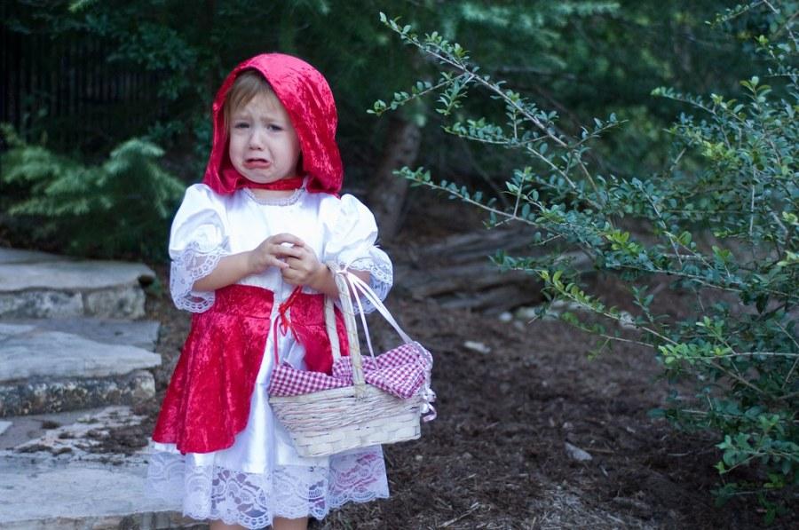 Losing Her Way to Grandma's House