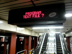 PROGRAM TEXT FILE ?