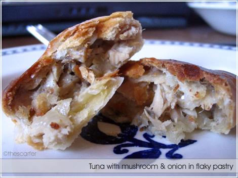 Tuna pastry