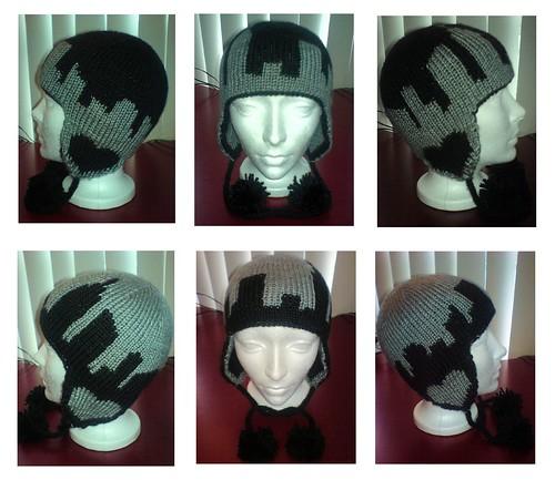 i <3 ny dk earflap hat