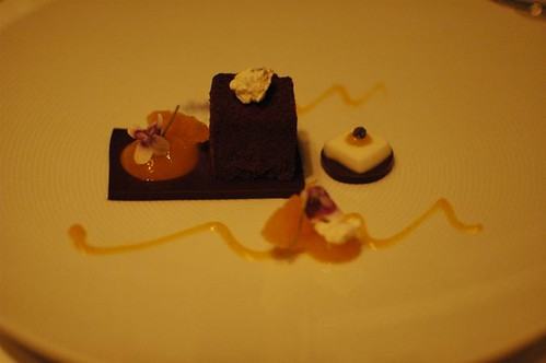 Mandarin, Chocolate, Violet