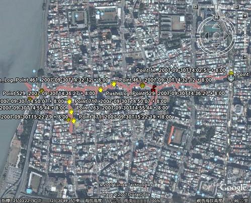 2007/09/30 GPS-earth
