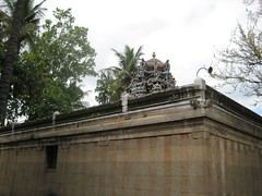 Vimanam of main shrine - Thiruaavinankudi