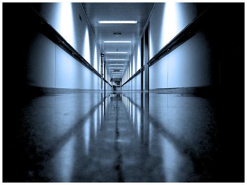 Hospital corridor - yosoyjulito on Flickr