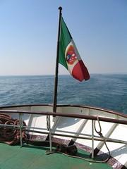 Bandiera del Piroscafo Italia
