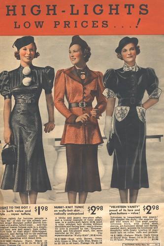 1936/37 fashion catalog