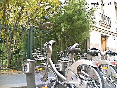 Le Parisien en Velib