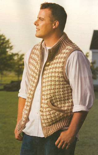 Another great vest pattern, this one from Crochet! magazine.