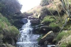 Waterfall at Armouth Wath