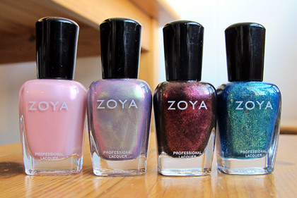 Zoya polishes