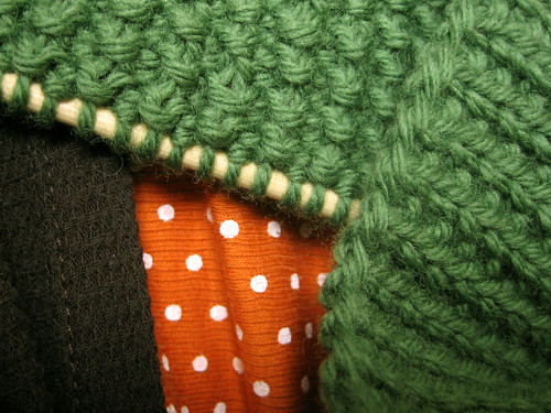 scarf side preference