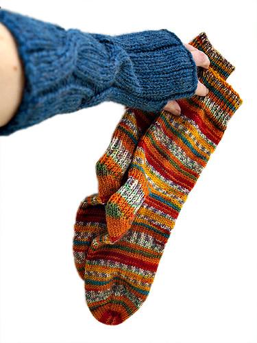 dashing with socks