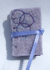 Purple Circles Needle Book