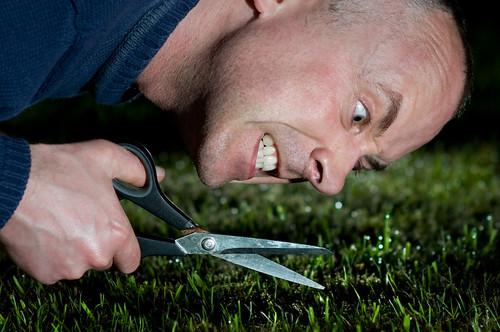 Threatening grass