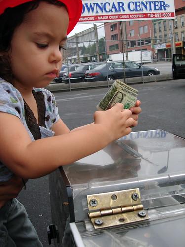 tipping at the car wash