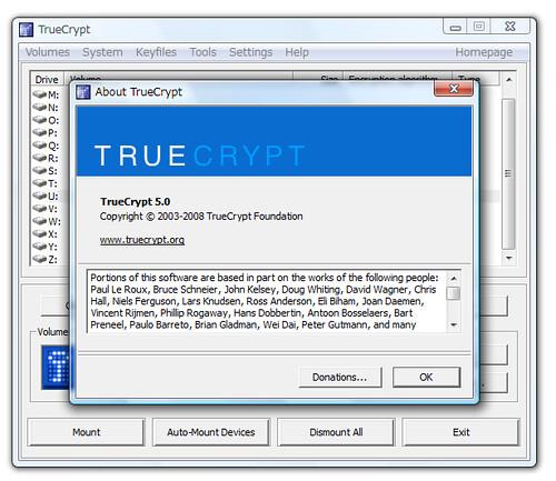 TrueCrypt 5.0