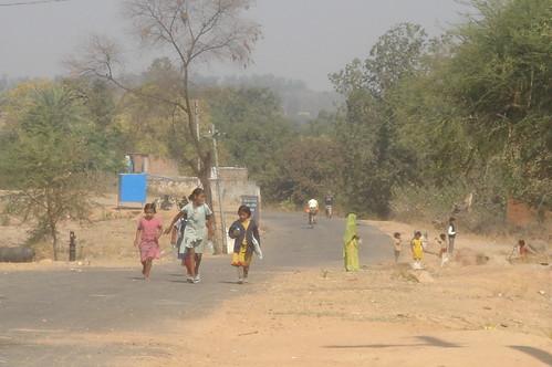 Khajuraho 路上1-9鄉下