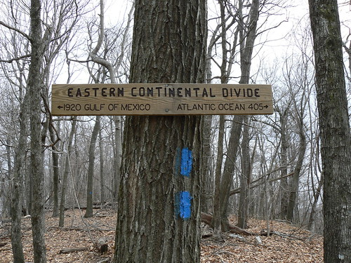 Sinking Creek Mountain - Eastern Continental Divide