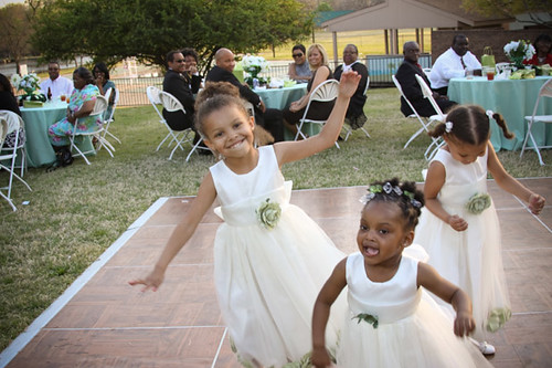 Hi, were the cutest flower girls ever. How are you?