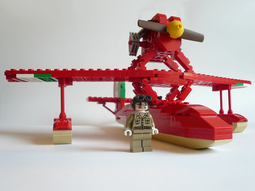 LEGO Savoia S21 from Porco Rosso
