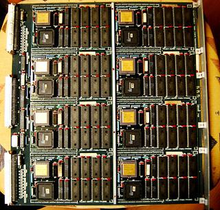 Esprit Supernode Transputer Processor Board