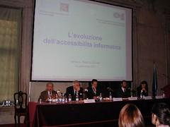 Tavolo oratori del convegno di Venezia