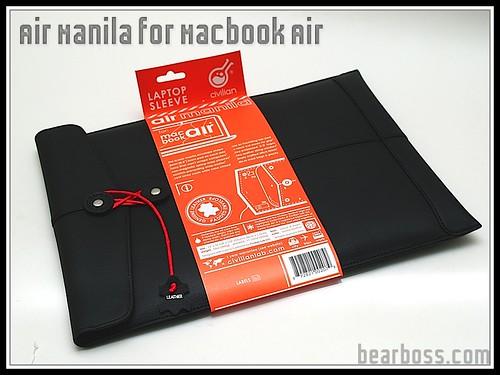 Air Manila for Macbook Air by Civilian Lab